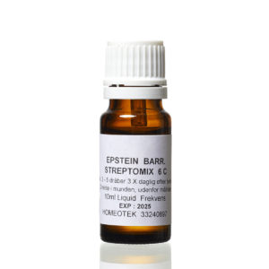 Epstein barr streptomix 6c - udrensning af Epsteinbarr virus