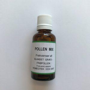 Pollen mix - allergi middel græspollen, frøpollen