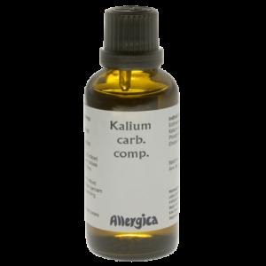 Kalium carb. comp - virus på balancenerven