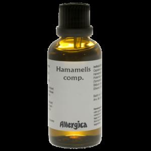 Hamamelis comp - naturmiddel til blødninger